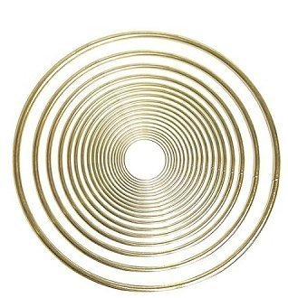 15'' Inch Brass Ring