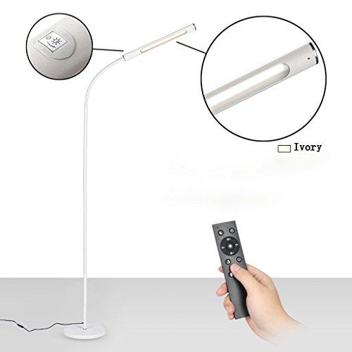 Flow Table Lamp 1 Light (LED Floor Lamp, Eye Protection Desk Lamp, Living Room Bedroom Study, Simple Piano Reading Eye Protection Vertical Table Lamp, 7W)