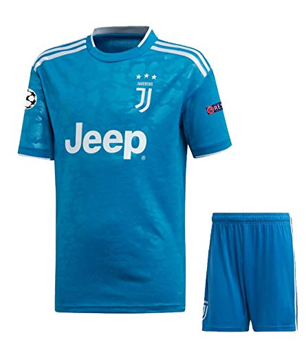juventus jersey 2019 20 juventus champions league 3rd kit half sleeves football jersey with shorts imported master quality xl amazon in sports fitness outdoors juventus champions league 3rd kit half