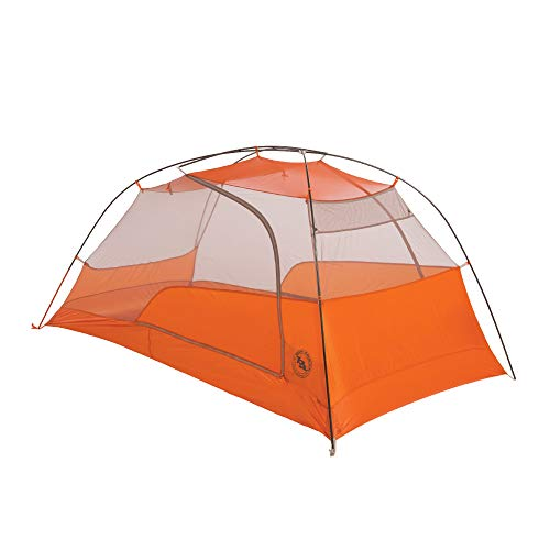 Big Agnes Copper Spur HV UL2 Backpacking Tent, Grey/Orange, 2 ()