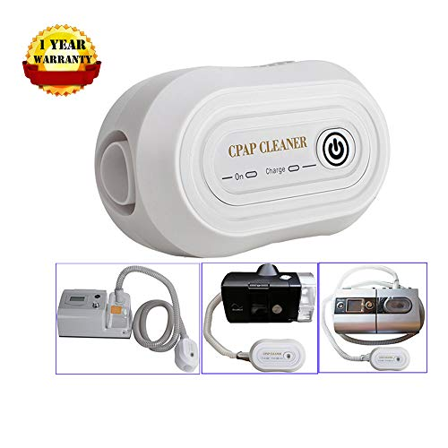 Denshine Mini CPAP Cleaner, Portable CPAP Cleaner Disinfector, for CPAP Air Tubes Machine Respirator Cleaning Sanitizer Disinfection from Denshine