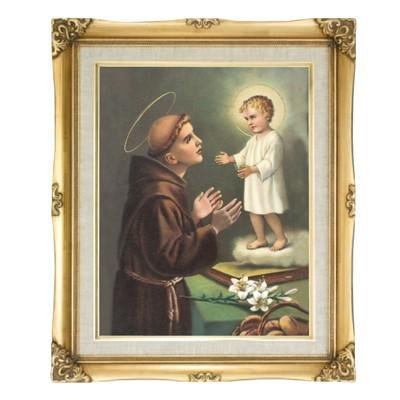 St. Anthony Framed Art by Discount Catholic Store