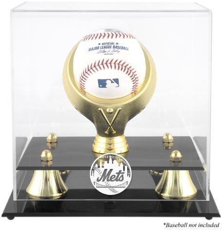 [New York Mets Golden Classic Single Baseball Display Case] (Mets Display Cases)