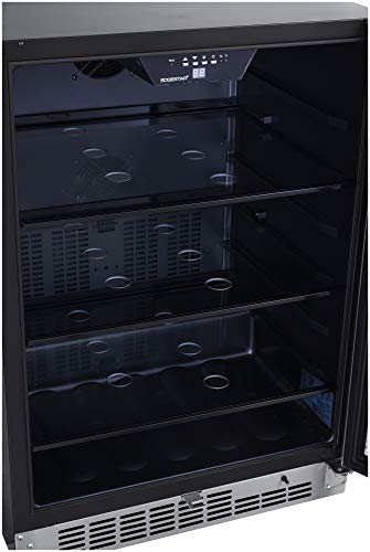 EdgeStar CBR1502SG 24 Inch Wide 142 Can Built-in Beverage Cooler with Tinted Door by EdgeStar (Image #2)
