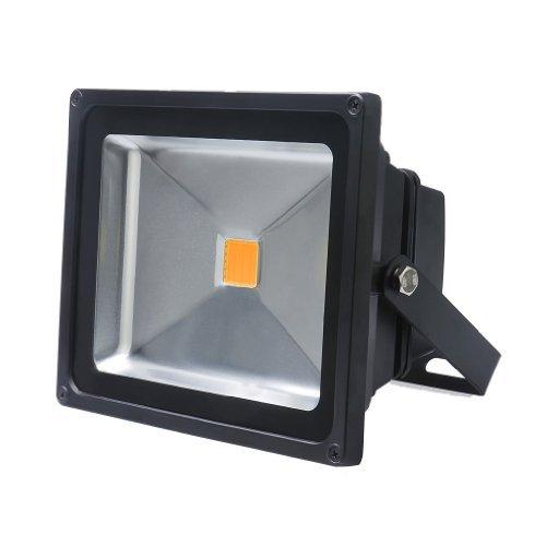 Auralum® 30w LED Fluter Außenstrahler 2700Lumen 230V IP65 Warmweiß mit Top-Qalität Mitte-Jahr-Absatz
