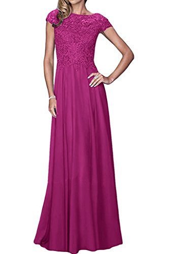 A Braut Rock mia Formal Lang Kleider Spitze Kleider Abendkleider Pink Blau Festlich La Bodenlang Brautmutterkleider Linie 17aUxaR