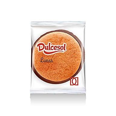 Conchas Pastel Bizcocho de chocolate - Lunas Dulcesol - Caja 2 kg: Amazon.es: Alimentación y bebidas