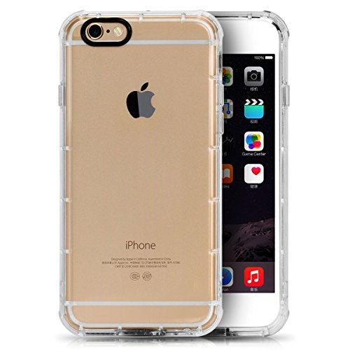 Price comparison product image IPhone 6 plus Case,Gaosa 5.5 Inch Apple iPhone 6plus/6splus Case Shock-Absorption Bumper and Anti-Scratch case
