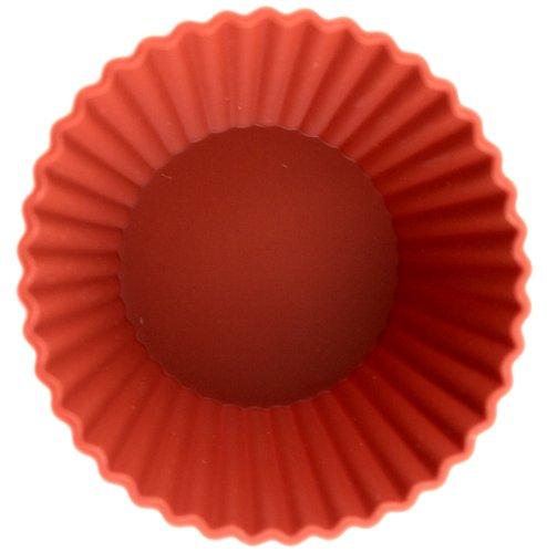 World Cuisine X6 Non-Stick Silicone Mold, Brioche (Silicone Non Paderno Stick)