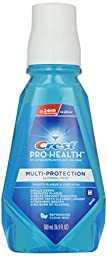 Crest Pro-Health Multi-Protection Oral Rinse, Refreshing Clean Mint, 16.9 oz