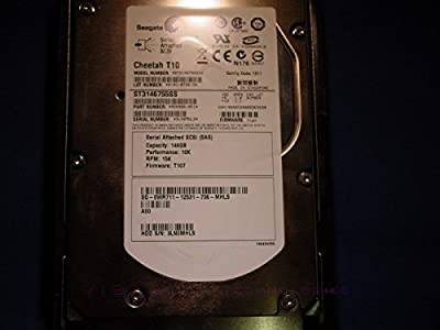 "DELL ST3146755SS-1 146gb 10K 3.5"" SAS Hard drive Dell Labeled from Seagate"