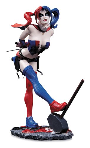 DC Collectibles DC Comics Cover Girls: Harley Quinn Statue (Second (Limited Edition Bust)
