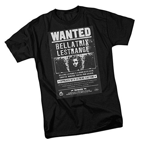 Bellatrix Lestrange Wanted Poster -- Harry Potter Youth T-Shirt, Youth Large