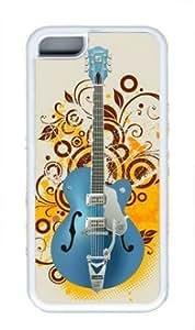 Absorbing Guitar iPhone 6 4.7 White Sides Rubber Shell TPU Case by Sakuraelieechyan