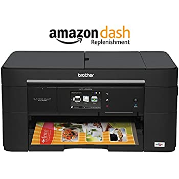 Amazon.com: Brother Printer MFCJ5520DW Wireless All-in-one ...