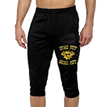 Men's Men Casual Sports Pants Suns Out Guns Out 3/4 Three-Quarter Pants With Two Side Pockets