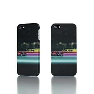 Apple iPhone 4 / 4S Case - The Best 3D Full Wrap iPhone Case - Tron Legacy Lightcycle Race