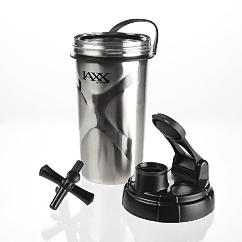 Fit & Fresh Jaxx Stainless Steel Shaker Cup, - Store Bodybuilding.com