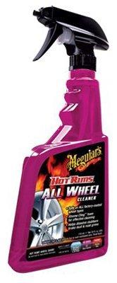 Meguiar's Hot Rims Wheel & Tire Cleaner (24 oz) – 6 Pack