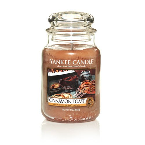 Yankee Candle Cinnamon Toast Large Jar candle,Food & Spice Scent -
