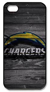 LZHCASE Personalized Protective Case For Samsung Galaxy S5 Cover NFL San Diego Chargers in Wood Background