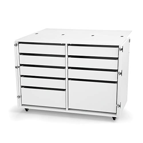 Kangaroo Kabinets K7911 Dingo, Nine Drawer Sewing Storage Cabinent, Ash -
