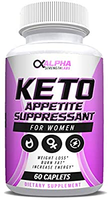 Keto Appetite Suppressant for Women - Natural Weight Loss Support Supplement - Burns Fat & Suppresses Appetite - Increase Energy - Neem - 60 Caplets