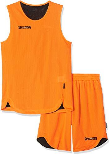 Multicoloreorangenoir Jersey Team Spalding Doubleface Vêtements Enfants Sports Set 0nwOPNymv8