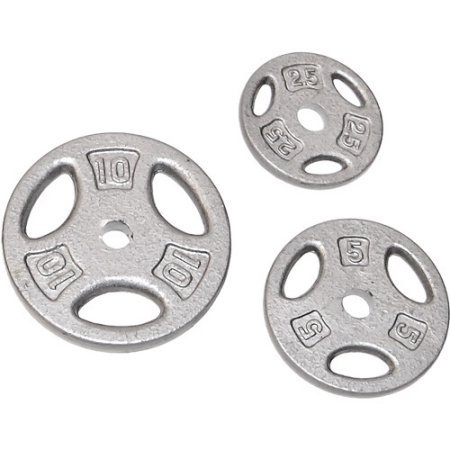 CAP Barbell 1'' Hole Weight Lifting Plate Set (140)