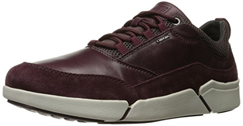 Geox Men Ailand a Walking Shoe, 8 D(M) US Red (Burgundyc7016)