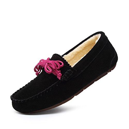 Zapatos casuales de moda/Zapatos de Doug/Más pelusa pisos/Zapatos de arco A