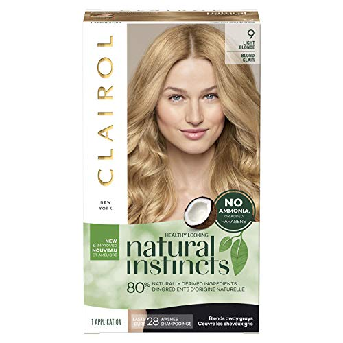 Clairol Natural Instincts Non-Permanent Color, 09 Light Blonde 1 ea (Pack of 2)
