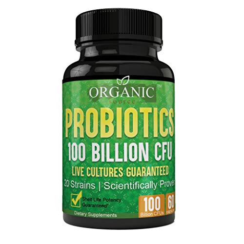 A Truly Successful Probiotics 100 Billion CFUs, Powerful Formula Promotes Digestive Health, Immunity and intestinal Regularity, Premium Gut Digestion Health