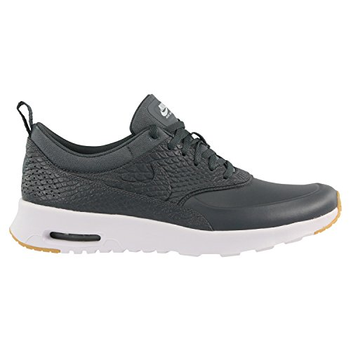 Nike air max thea PRM Womens Running Trainers 616723 Sneakers Shoes (UK 5.5 US 8 EU 39, Dark Grey Gum Yellow 015)