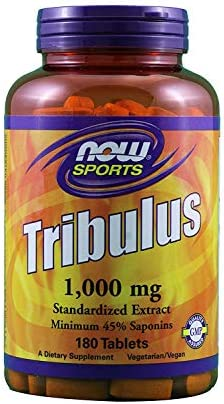 NOW Sports- Tribulus, 1000 mg- 180 Tablets, 2 pack