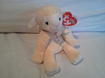 f76e91f8373 Image Unavailable. Image not available for. Color  Ty Beanie Baby Fleecie  the Lamb ...