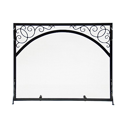 - Minuteman International GS-3830 Sterling Fire Screen Scroll and Arch