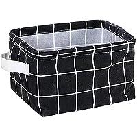 Rectangular Storage Basket,Nursery Hamper Canvas Fabric Toy Storage Organizer Bin,Waterproof Storage Box,Laundry Basket…