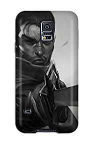 Rugged Skin Case Cover For Galaxy S5- Eco-friendly Packaging(yasuo)
