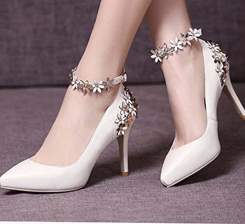 En Chaussures KPHY Chaussures Seul Chaussures Pure Cuir De Hauts Chaussures pour En 9Cm Des En Chaussures Des Des Talons Pointues Trente Six Cuir Cuir À L'Automne Des Des Le femmes Chaussures Talons 0vxf06rq