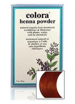 Natural Henna Hair Coloring Powder, Auburn; 2oz (Henna Based Hair Color)
