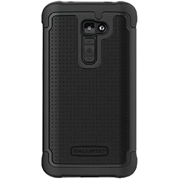Ballistic SG1233-A065 Shell Gel for LG G2 - Verizon- Retail Packaging - Black/Black