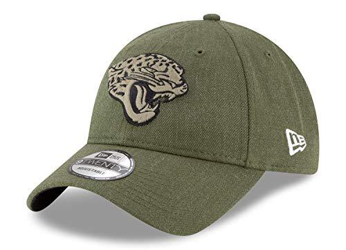 3826dae99 New Era Mens NFL 2018 Salute to Service 9Twenty Strapback Hat (Jacksonville  Jaguars). Jacksonville Jaguars Salute to Service