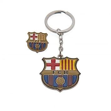 FC Barcelona llavero y insignia Set: Amazon.es: Juguetes y ...