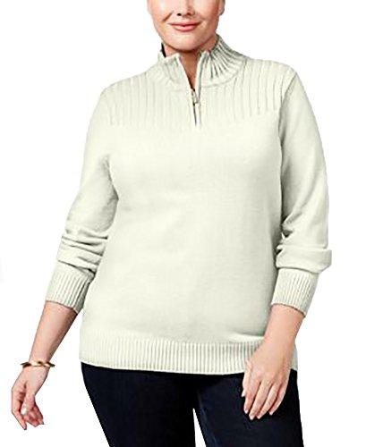 Zip Mock Turtleneck Sweater - 8