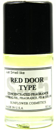 Popular Flavor Fragrance Body Oil Selection 0.5 Oz Made in USA (RED DOOR) (Red Door Body Perfume)