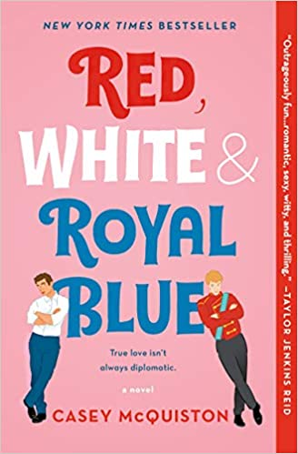 Red, White & Royal Blue - from a list of feel-good books that will make you smile | The Good Living Blog