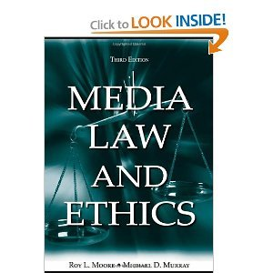 Media Law and Ethics 5th (Fifth) Edition byMoore pdf epub