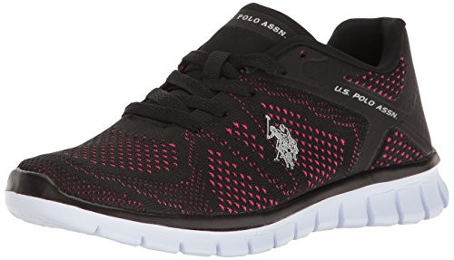 U Fashion k Black s Assn Women's Geena fuchsia Polo women's Sneaker pqZBrw4pU