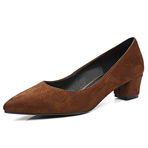 Fashion HeelHeels - Sandalias con cuña mujer marrón